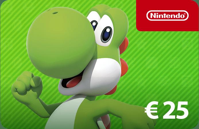 Nintendo e-shop 25Euro