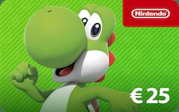 Nintendo e-shop 25 euro
