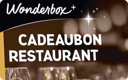 Wonderbox cadeaubon restaurant