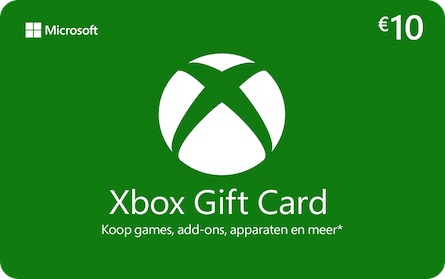 Microsoft xbox gift card 10euro