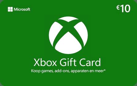 xbox giftcard microsoft 10euro