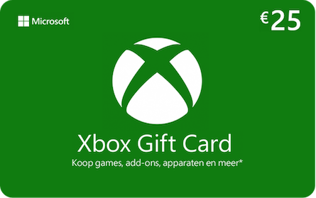 Microsoft Xbox gift card 25euro