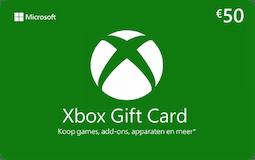 Microsoft xbox gift card 50euro